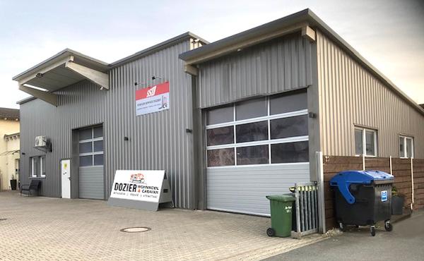 Firmenhalle Dozier Wohnmobil & Caravan